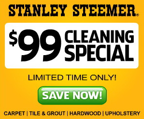 Stanley steemer coupons discounts