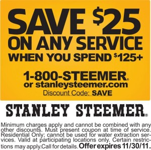 image regarding Stanley Steemer Coupon Printable referred to as Provide Stanley Steemer Coupon Stanley Steemer Promo Code